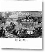 Lake Erie - 1815 Metal Print