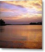 Lake Lanier Sunset Metal Print