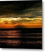 Lake Of Fire Metal Print