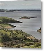 Lake San Antonio California Metal Print by Elery Oxford