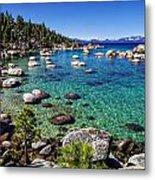 Lake Tahoe Waterscape Metal Print by Scott McGuire