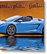 Lamborghini Gallardo Metal Print