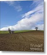 Landscape In France Metal Print