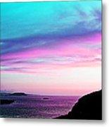 Landscape - Sunset Metal Print