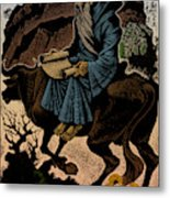 Laozi, Ancient Chinese Philosopher Metal Print