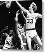 Larry Bird Metal Print by Retro Images Archive
