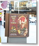 Las Vegas - Fremont Street Experience - 12128 Metal Print by DC Photographer