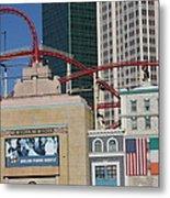 Las Vegas - New York New York Casino - 12128 Metal Print