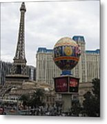 Las Vegas - Paris Casino - 12123 Metal Print