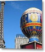 Las Vegas - Paris Casino - 12127 Metal Print