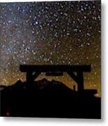 Last Dollar Gate And Milky Way Starry Metal Print