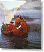 Last Of The Mohicans, 1919 Metal Print