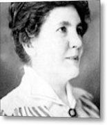 Laura Ingalls Wilder (1867-1957) Metal Print