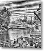 Liberty Square Riverboat Metal Print
