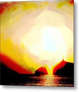 Light From Heaven Metal Print