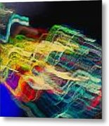 Light Strands Metal Print
