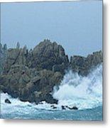 Lighthouse On An Island, Creach Metal Print