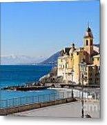 Liguria . Camogli Metal Print
