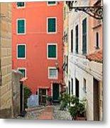 Liguria - Sori Metal Print