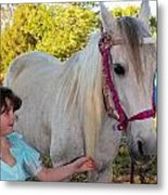 Lilly And Cierra Metal Print