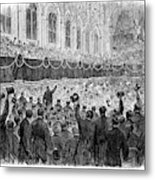 Lincoln Assassination, 1865 Metal Print