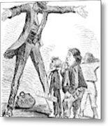 Lincoln Cartoon, 1865 Metal Print