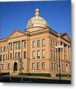 Lincoln Illinois - Courthouse Metal Print