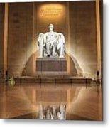 Washington Dc - Lincoln Memorial Metal Print