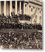 Lincoln's Inauguration, 1865 Metal Print