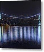 Lions Gate Bridge Metal Print by Colin McMillan