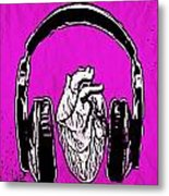 Listen 2 Your Heart Metal Print