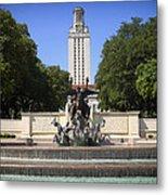 Littlefield Fountain - University Of Texas Metal Print