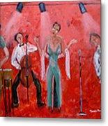 Live Jazz Metal Print by Mounir Mounir