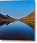 Loch Leven Metal Print