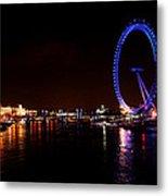 River Thames - London Metal Print