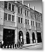 London Fire Brigade Headquarters Union Street Southwark England Uk Metal Print