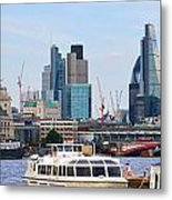 London Old And New 5838 Metal Print