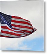 Long May You Wave Metal Print