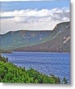Long Range Mountains In Western Nl Metal Print