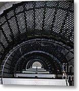 Looking Up The Lighthouse Metal Print