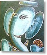 Lord Ganesh Metal Print