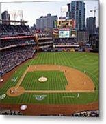 Los Angeles Dodgers V. San Diego Padres Metal Print