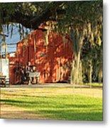 Louisiana Barn Metal Print