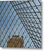 Louvre In Paris France Metal Print