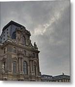 Louvre - Paris France - 01139 Metal Print