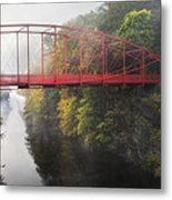Lovers Leap Bridge Metal Print