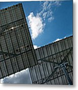 Low Angle View Of Solar Panels Metal Print