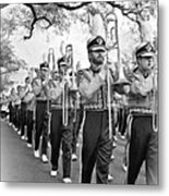 Lsu Marching Band Vignette Metal Print