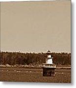 Lubec Channel Lighthouse Metal Print