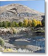 744p Lucky Peak Dam Sandy Point Id Metal Print
